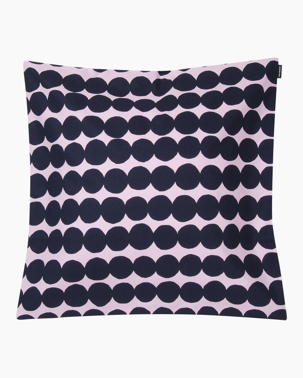 Marimekko Cushion Cover Rasymatto Blue Spot Pink - stilecollettivo