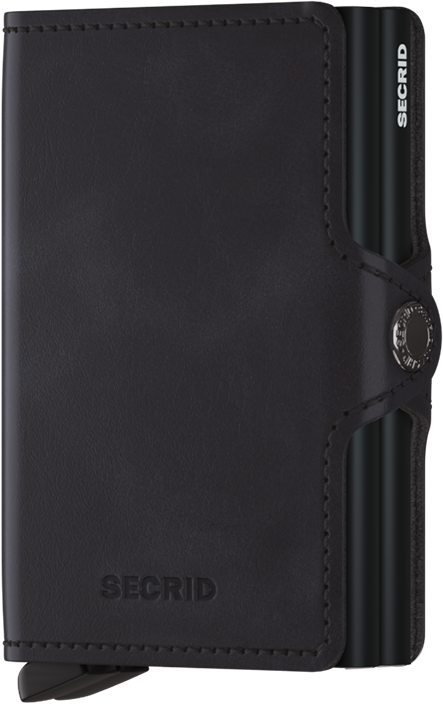 Secrid Twin Wallet Vintage Black - stilecollettivo