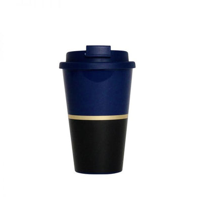 Alice Pleasance Travel Mug Black and Navy Blue - stilecollettivo