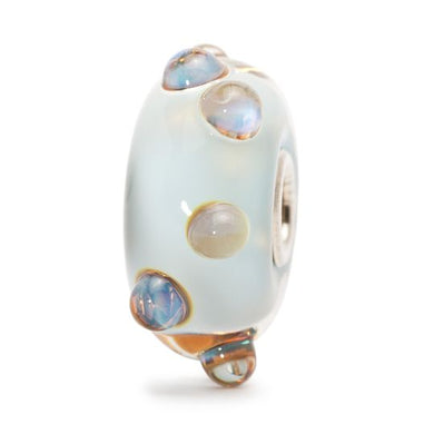 Trollbeads Blue Moonstone Glass Bead - stilecollettivo