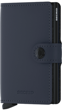 Secrid Miniwallet Matte Night Blue.
