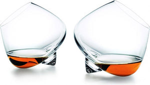 Normann Copenhagen Glasses set of 2 Cognac - stilecollettivo