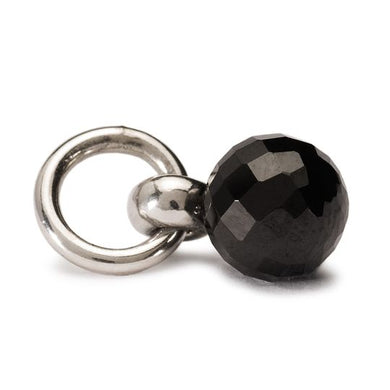 Trollbeads Black Spinel Tassel - stilecollettivo