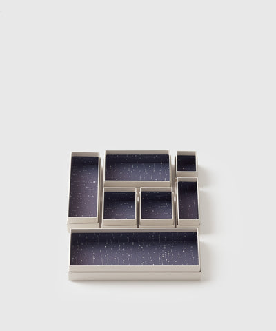Hikidashi storage box, set of 14. Exclusively designed Joyful Collection for The Container Store x KonMari by Marie Kondo.