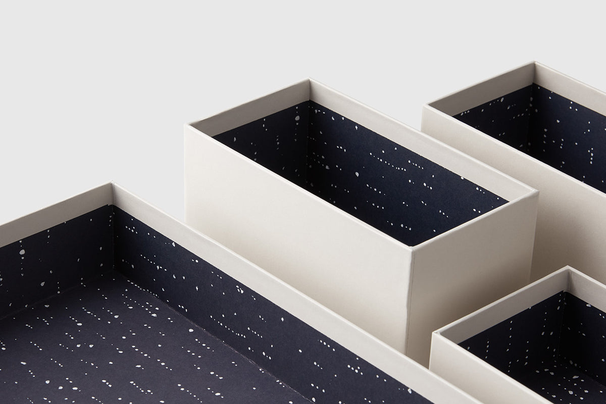 Medium Hikidashi Drawer Organizer – Set of 8, Balance