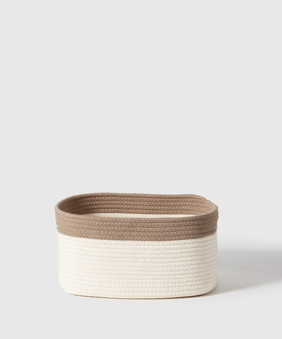 Part of the Kawaii Kids' Collection - Marie Kondo's exclusive designs for The Container Store x KonMari. Cotton storage rope bin for kids, nursery, playroom organization.