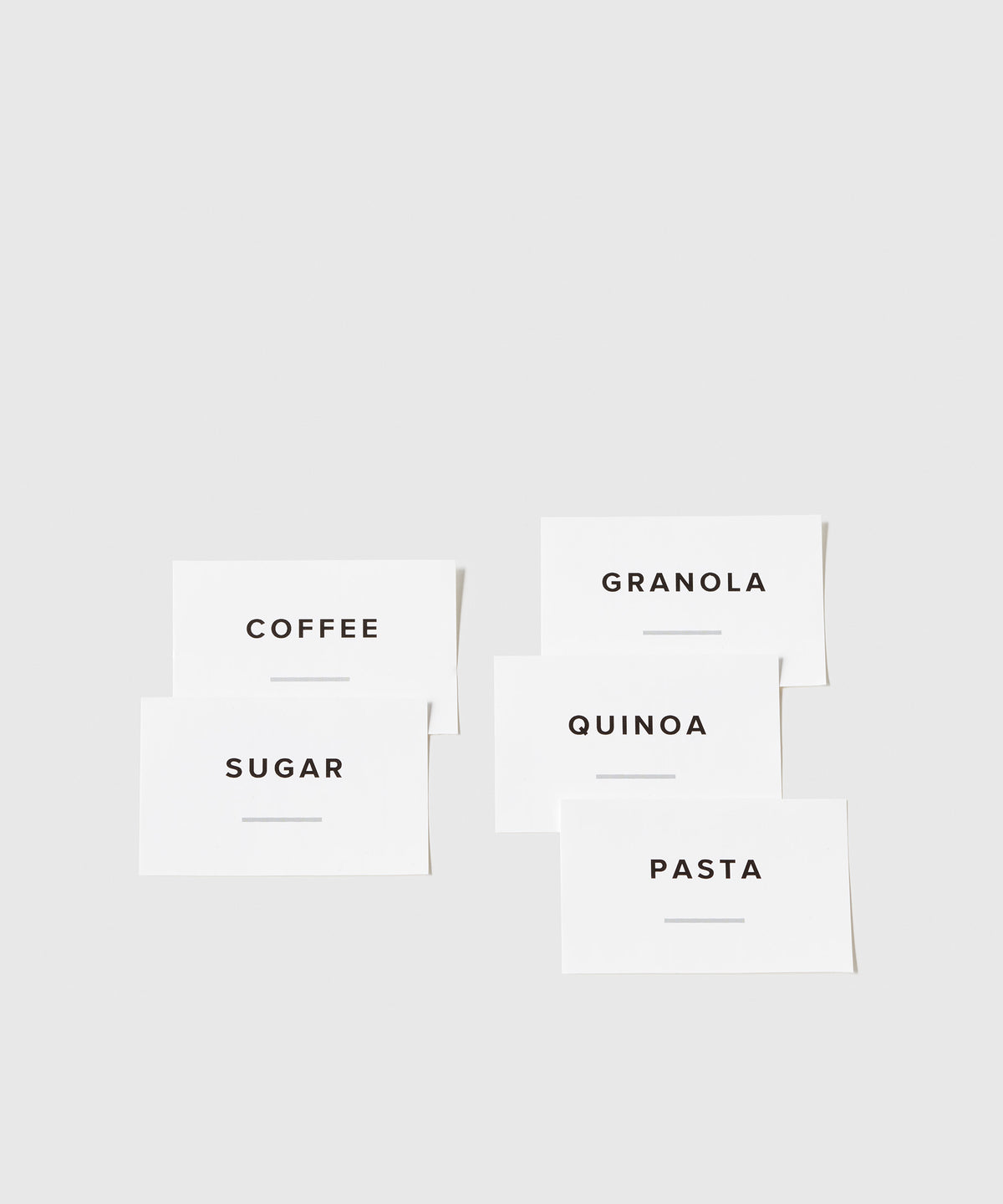 Kitchen & Pantry Labels
