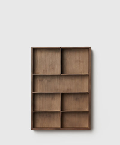 The Container Store x KonMari Sustainable Bamboo Drawer Organizer designed by Marie Kondo