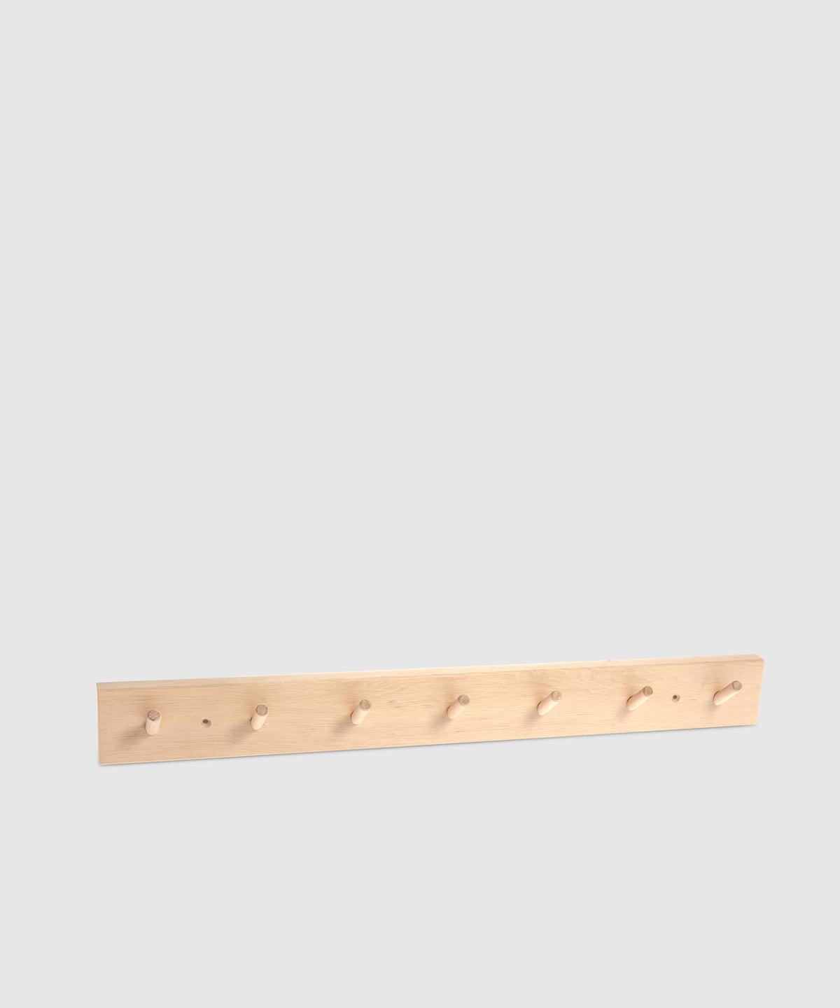 Wooden Organizing Rack With 7 Hooks