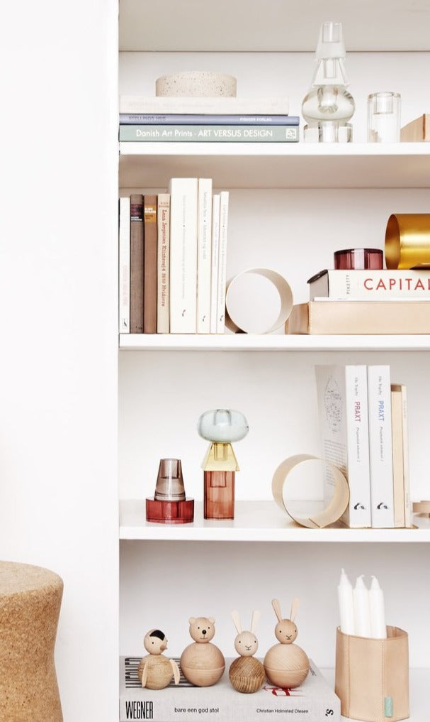 Ultimate Organization: Brass Loop Bookend