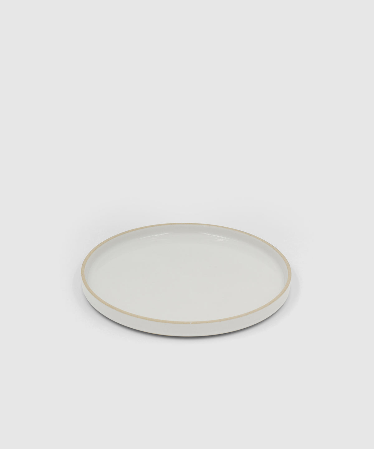 Hasami Zen Porcelain Dinner Plate – Gloss Grey