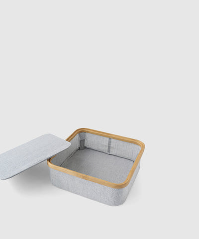 Stacking Storage Box With Lid