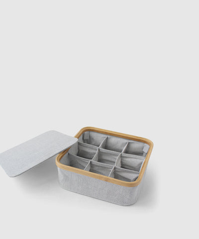 Stacking Storage Box With 9 Compartments