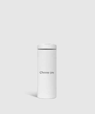 'Choose Joy' Reusable Travel Tumbler
