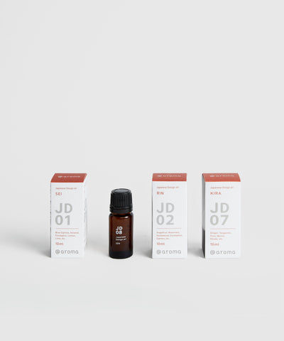 100% Natural Essential Oil – Inspired by Japan. Sold separately.