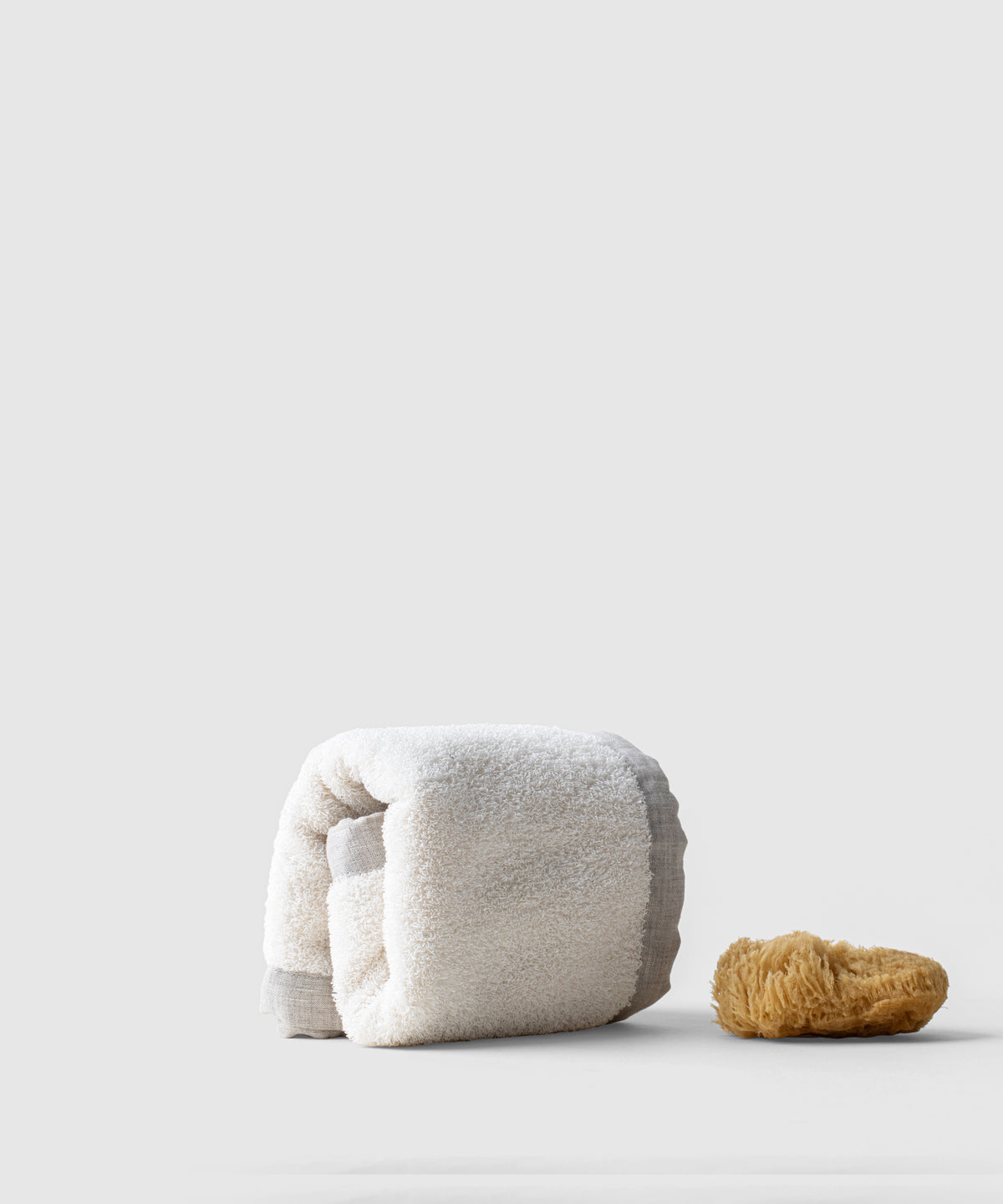 Pure Linen Pile Bath Mat: Naturally Antibacterial