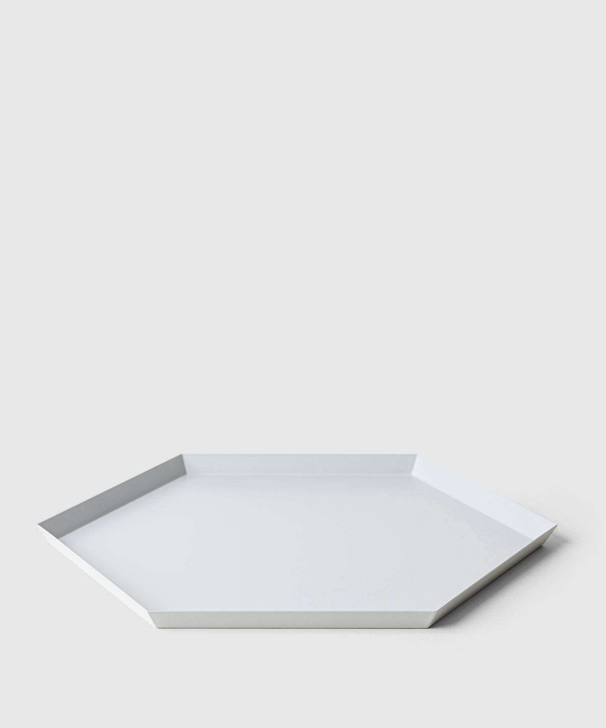 Generous Hex Organizing Tray – Grey Steel
