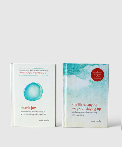 Marie Kondo Book Set Front Covers