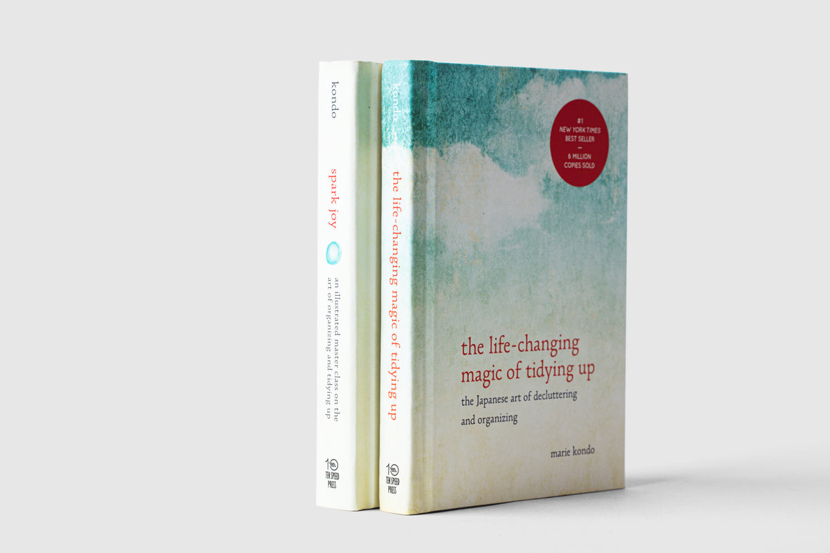 Book Set: 'The Life-Changing Magic of Tidying Up' & 'Spark Joy'