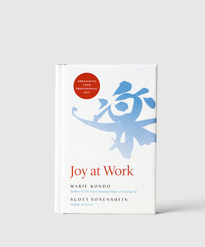 Marie Kondo's 'Joy at Work: Organizing Your Professional Life' (Preorder)