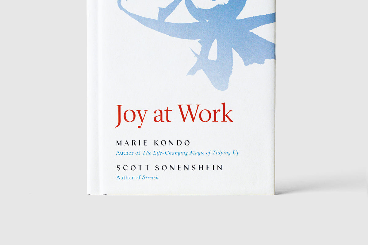 Marie Kondo's 'Joy at Work: Organizing Your Professional Life'