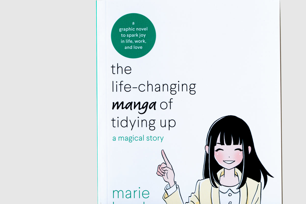 'The Life-Changing Manga of Tidying Up: A Magical Story' by Marie Kondo