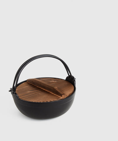 Cast Iron Hot Pot for Shabu-Shabu | KonMari by Marie Kondo