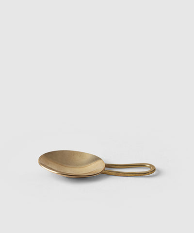 Brass Tea Scoop
