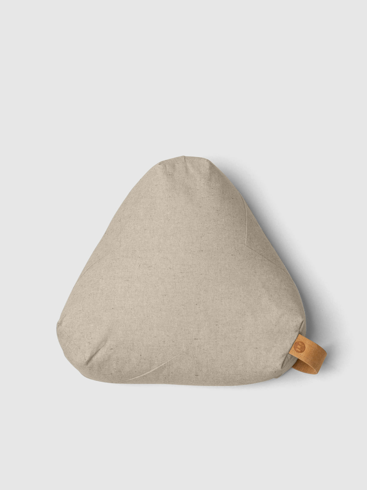 Organic Cotton Meditation Support Cushion – Sandstone