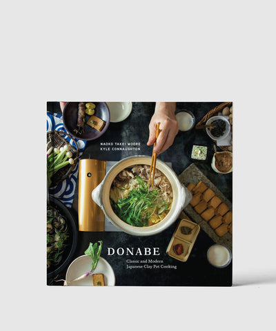 Donabe Japanese Pot Cooking Book Cover