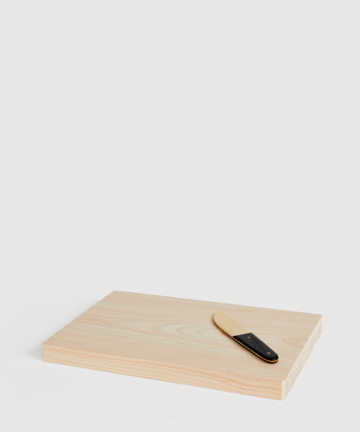 Solid Hinoki Wood Cutting Board