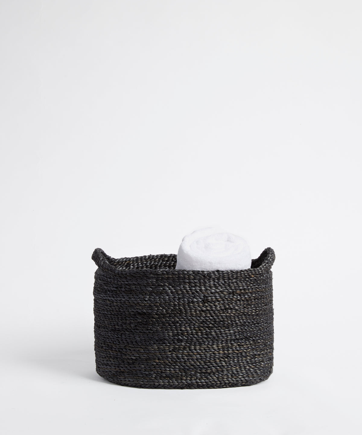 Small Charcoal Storage Basket with Handles