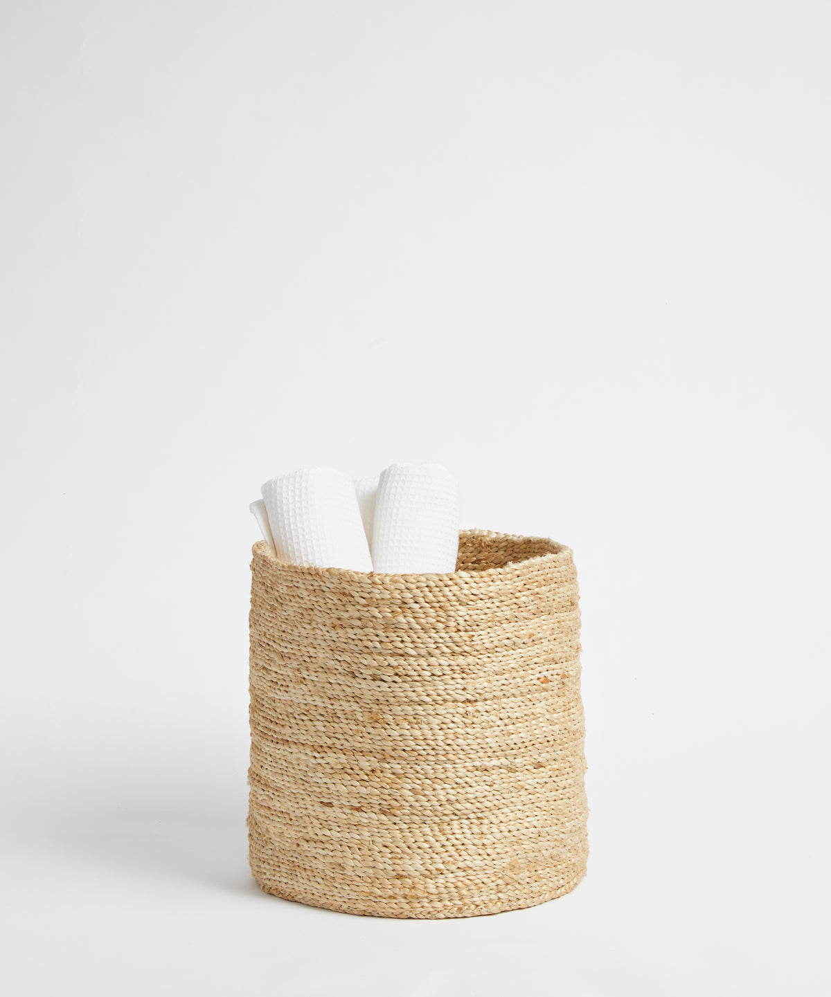 Medium Handwoven Jute Basket
