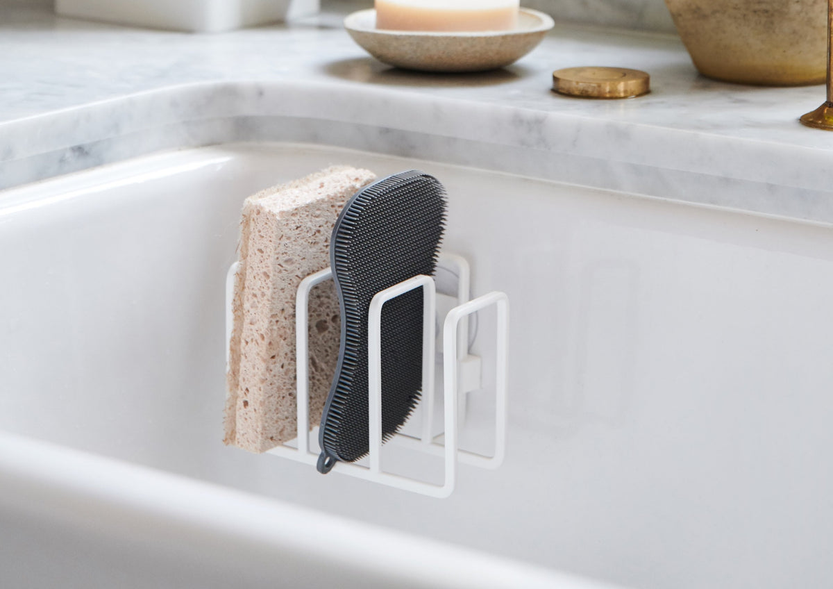 Self-Draining Sponge Holder