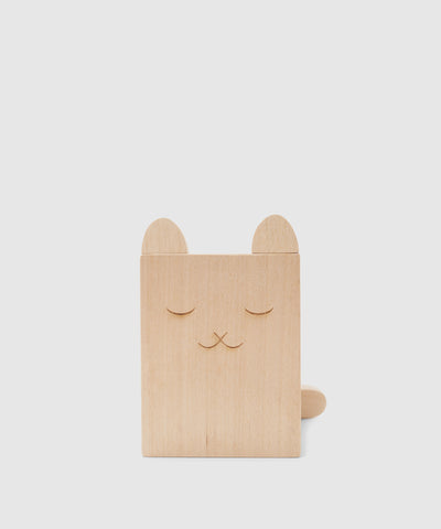 Cute Cat Wooden Pencil Holder