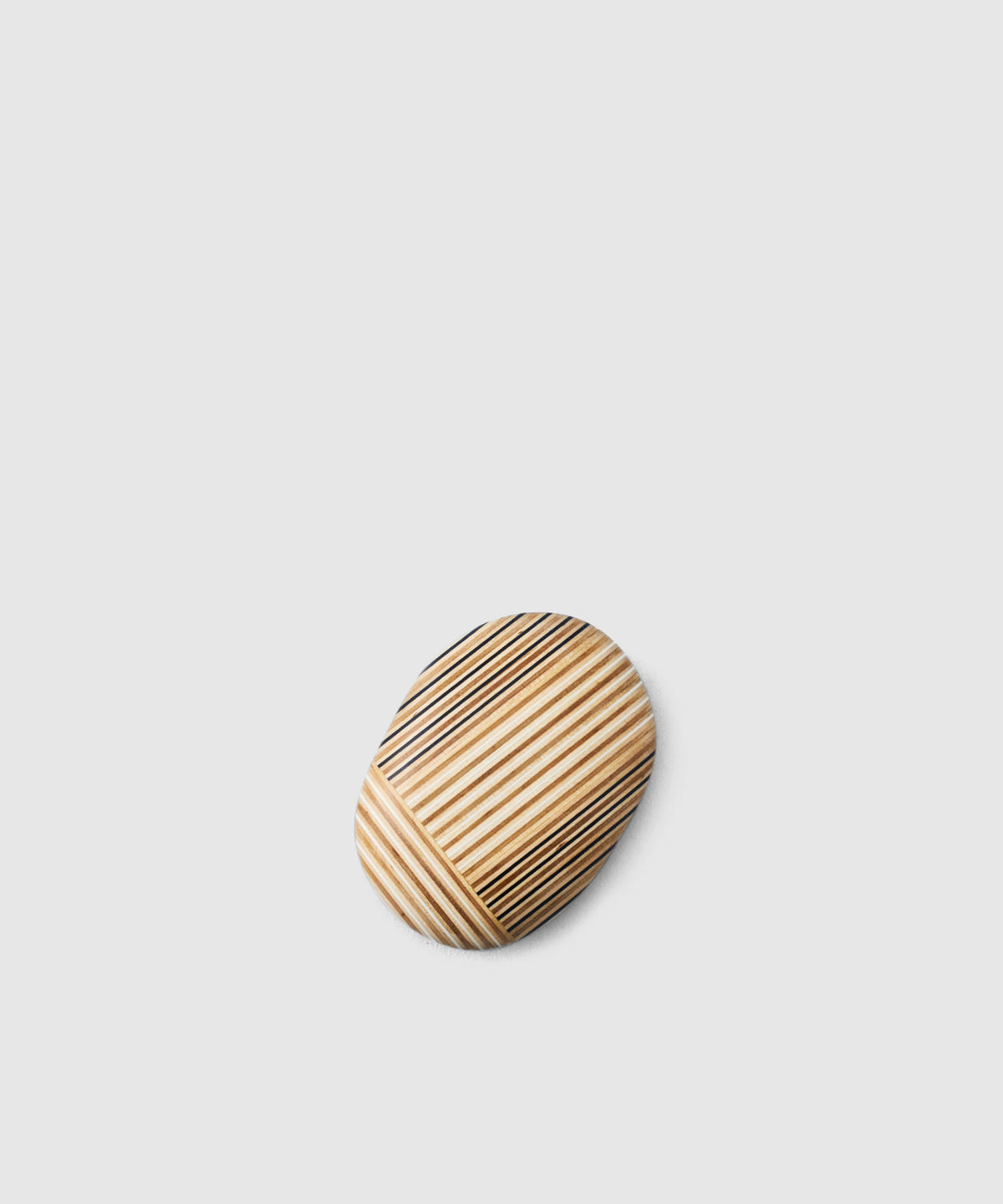 Patchwork Wooden Paperweight
