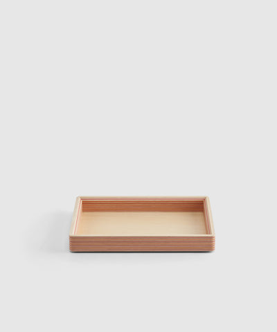 Small Stackable Wooden Paper Tray