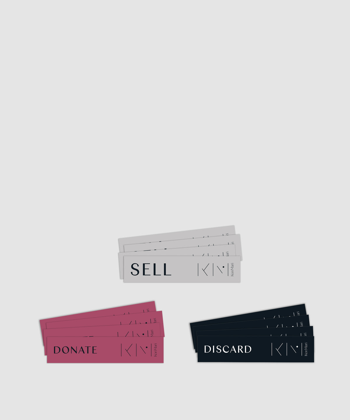 """Donate, Discard, Sell"" Sticker Pack"