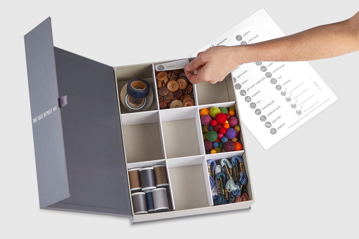 The Safe Deposit Box: Memento Organizer