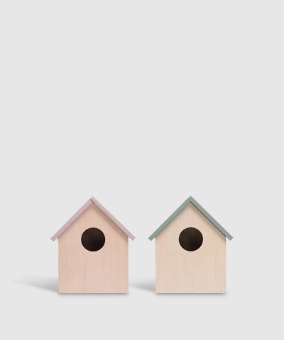 Decorative Mini Storage Birdhouses