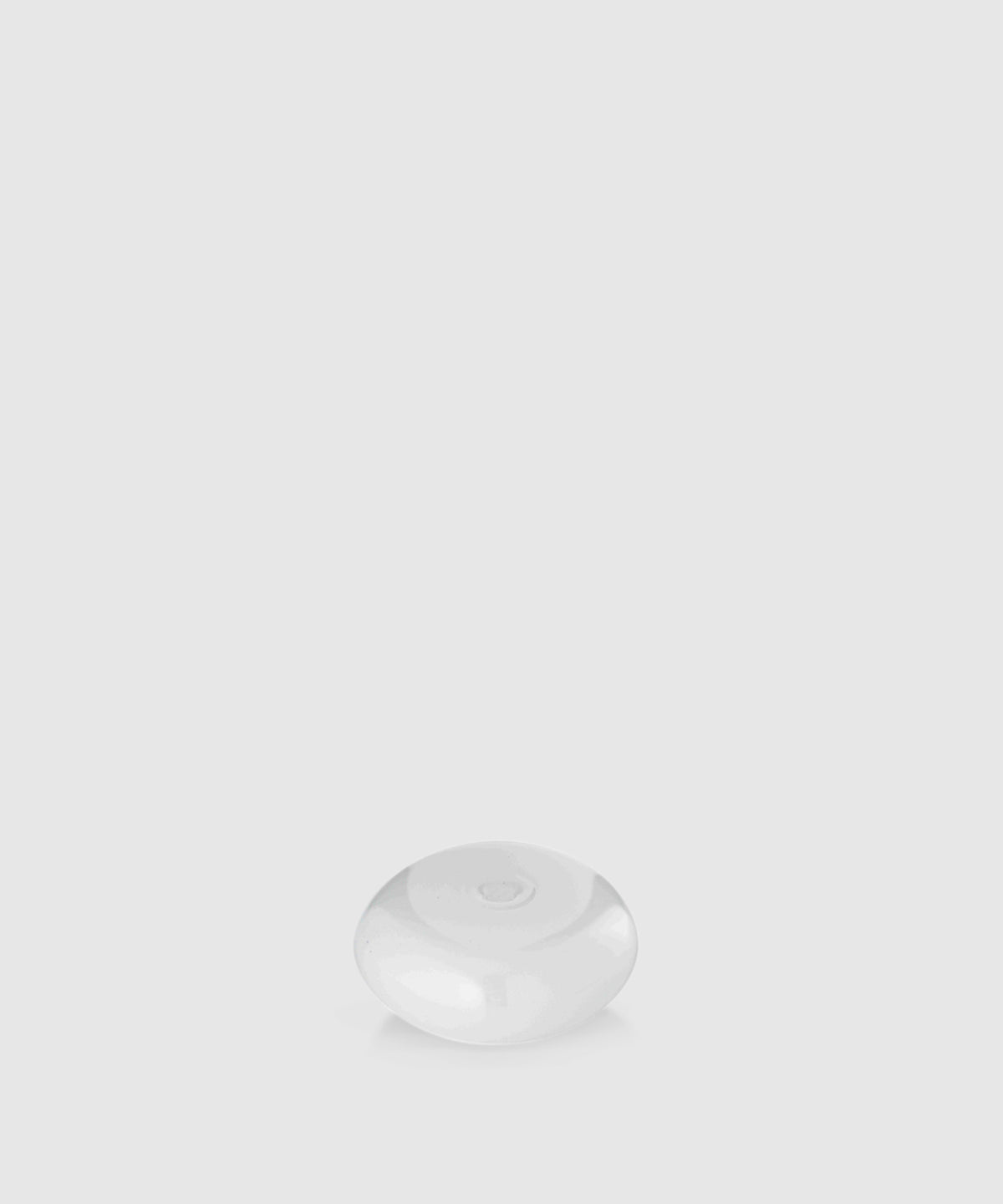 Glass Bubble Incense Holder – White