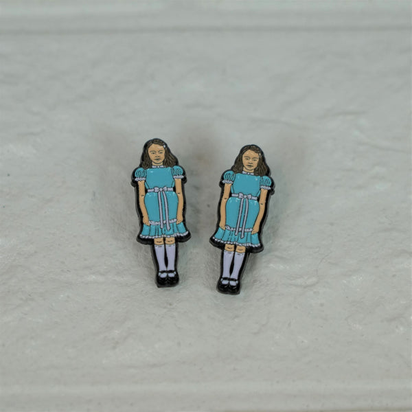 Shining Twins Set Pin