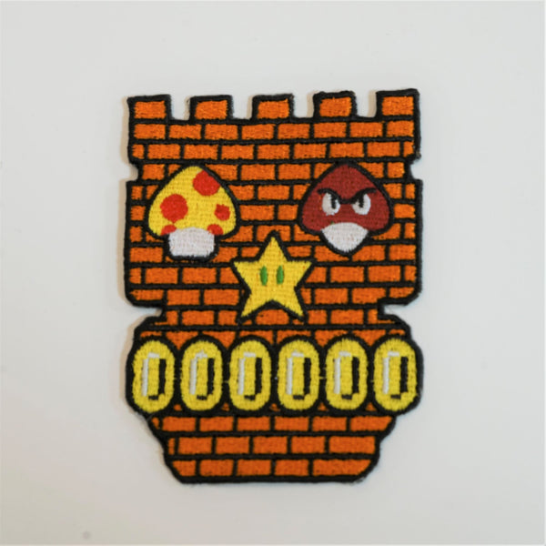 Nintendo Skull Patch