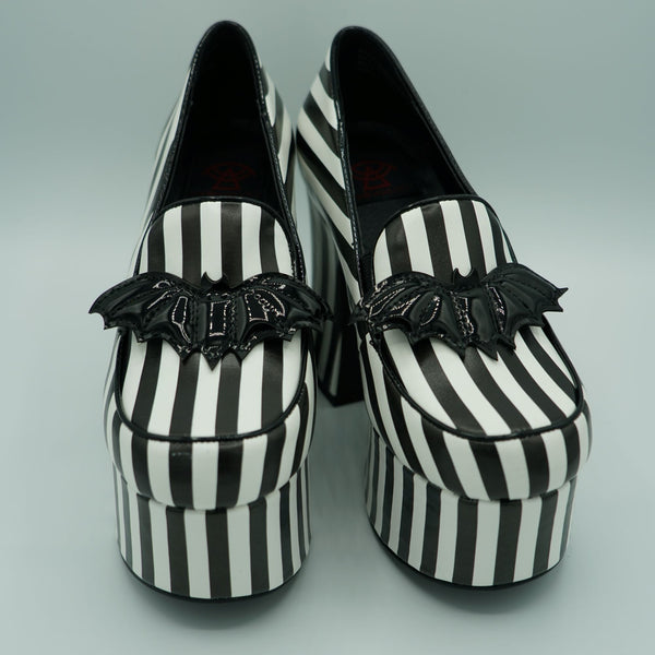 NEW! Banshee Heel (Striped) -STRANGE CVLT