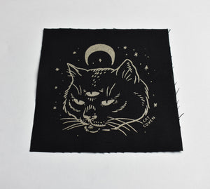 Cat Oracle Cloth Patch