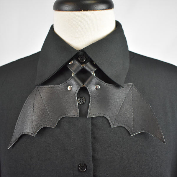 Bat Wing Bow Tie- HANDMADE LOCALLY