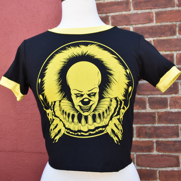 NEW! Pennywise Crop Ringer