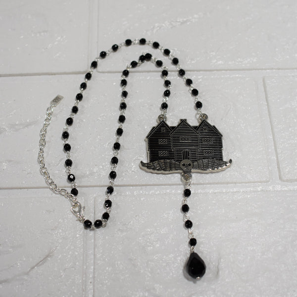 Witch House Rosary Necklace