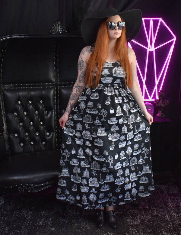 RESTOCKED!- From Salem, With Love Maxi Dress (Collab w/ Brett Manning)