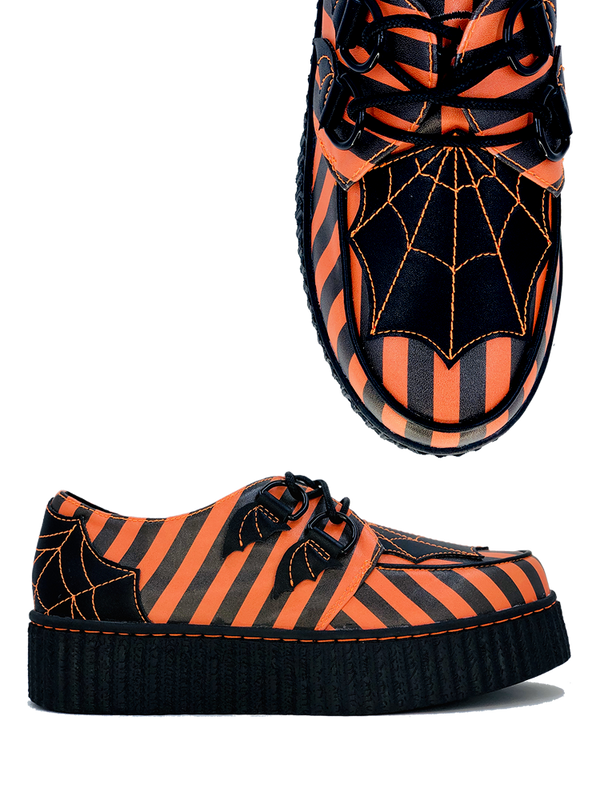 NEW!- Halloween Stripes Krypt Creeper